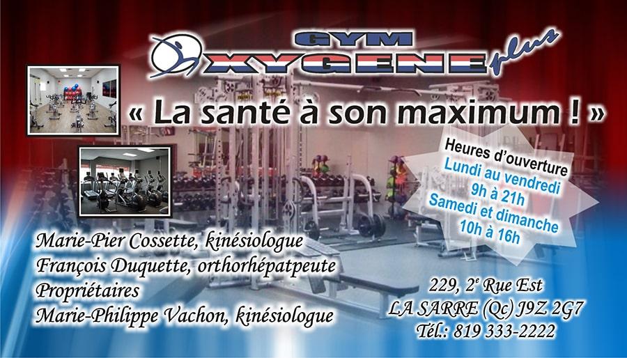 Gym Oxygene CA2015.-min