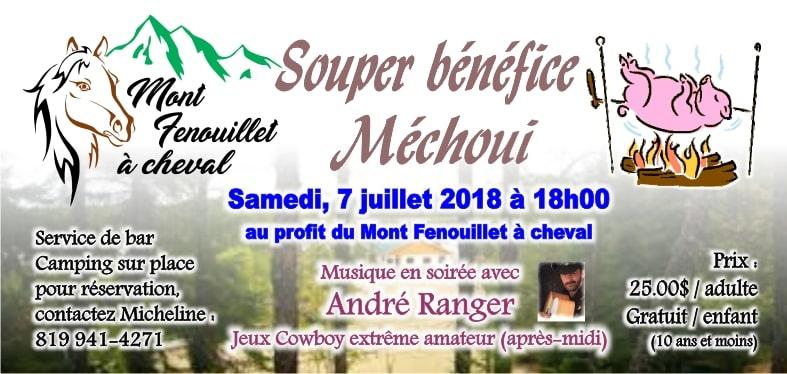 Mont fenouillet a cheval billet Méchoui 2018-min