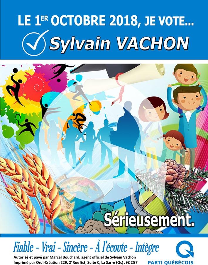 Parti qUEBECOIS Encart Sylvain Vachon2-min
