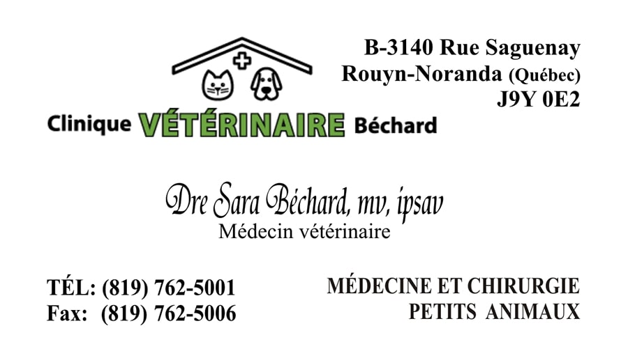 clinique veterinaire bechard.-min